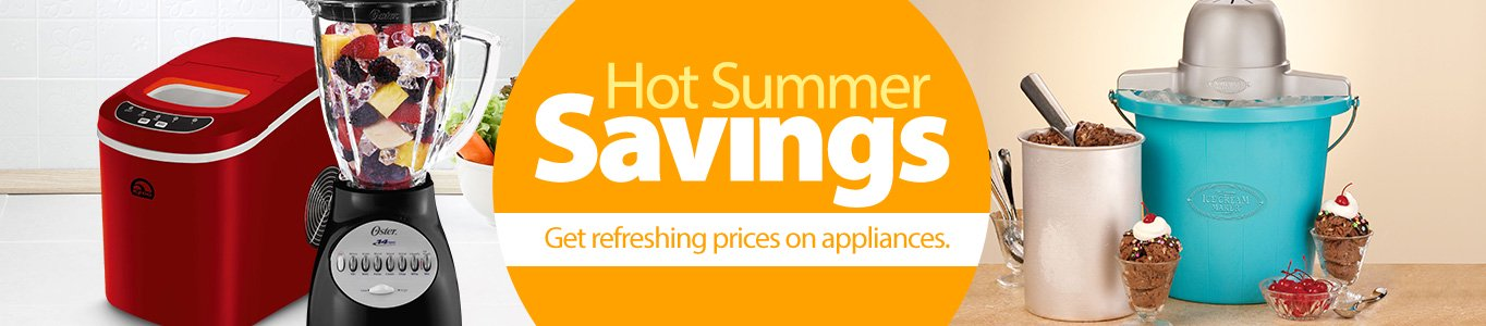 Hot Summer Savings Appliances