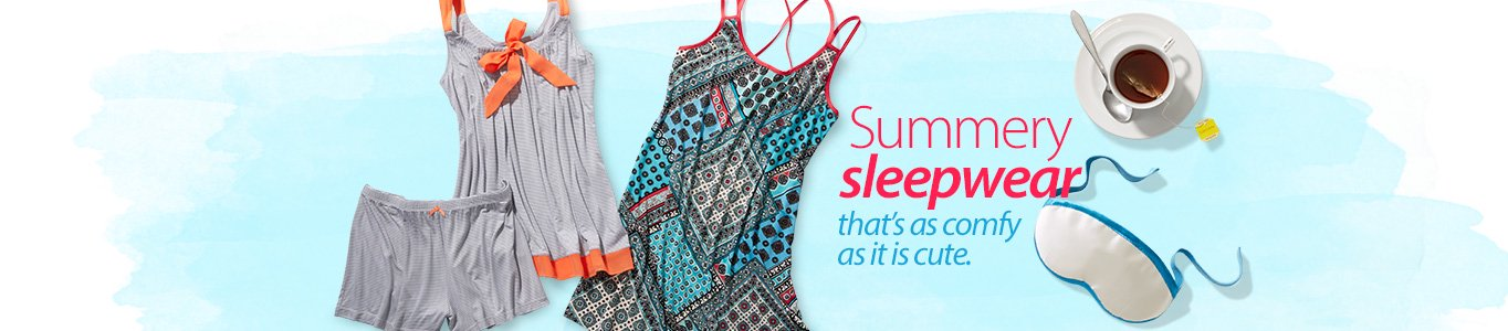 Summery sleepwear