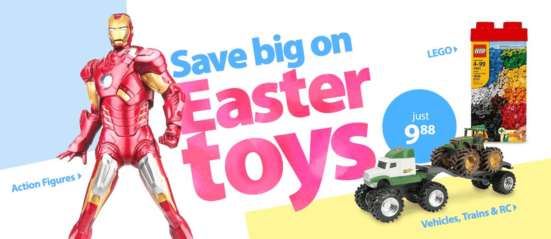 Walmart Toys For Boys : Easter boys toys