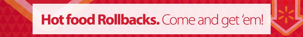 Food Holiday Rollbacks - 11.05.15