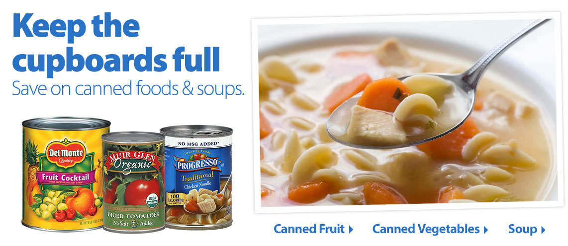 Canned Goods & Soups POV