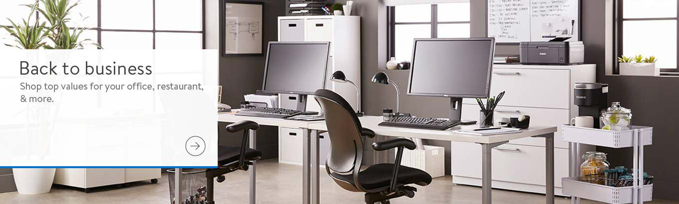 Back to business. Shop top values for your office, restaurant, and more. Shop now.
