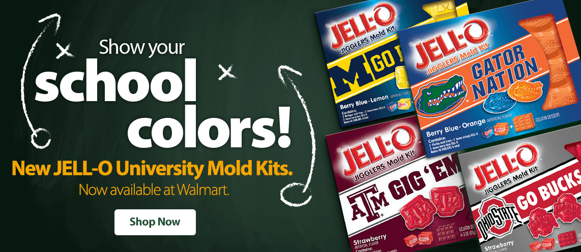 Jell-O University Snacks
