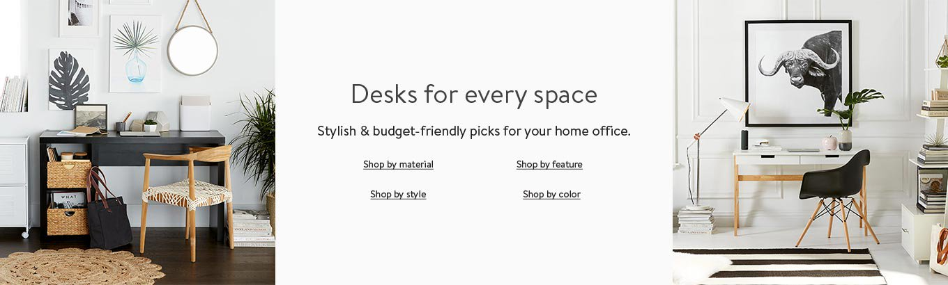Shop desks for every space