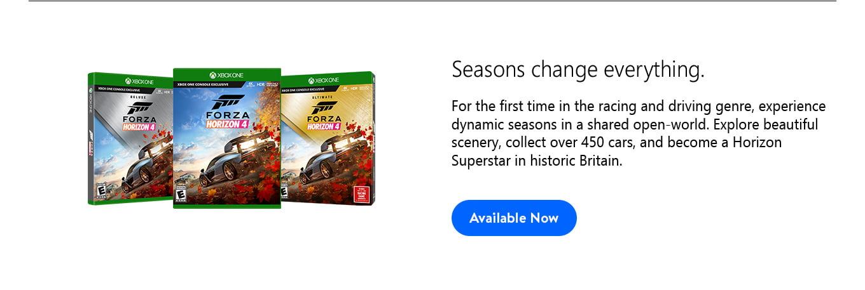 FH4 Seasons change