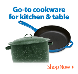 Go-to cookware for kitchen & table