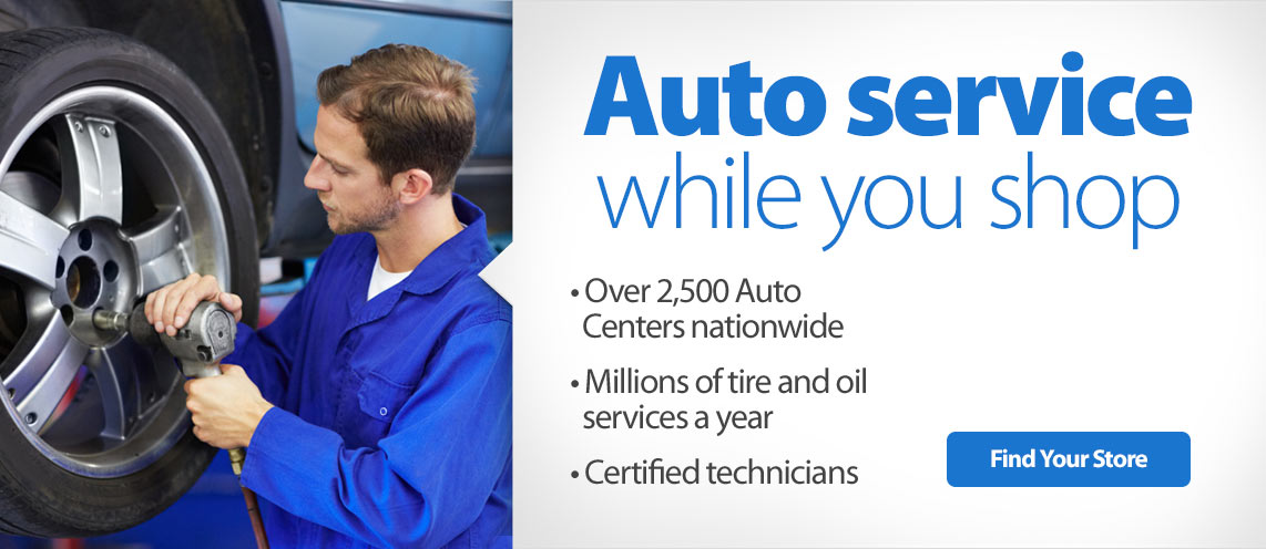 Auto Service while you shop