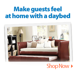 Make guests feel at home with a daybed