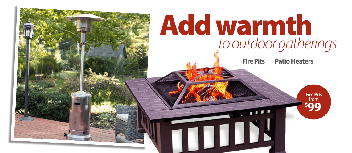 Add warmth to outdoor gatherings