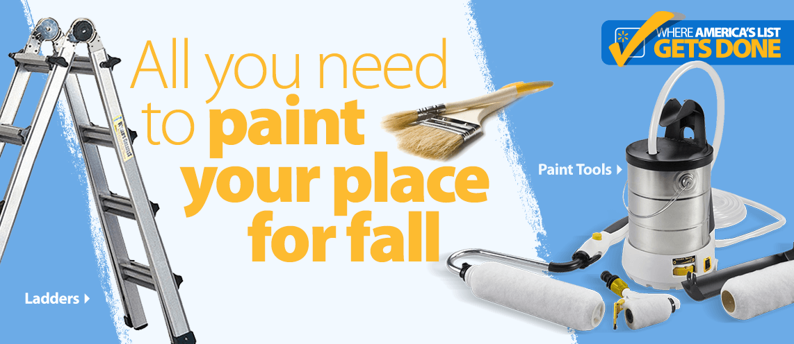 Paint your place for fall