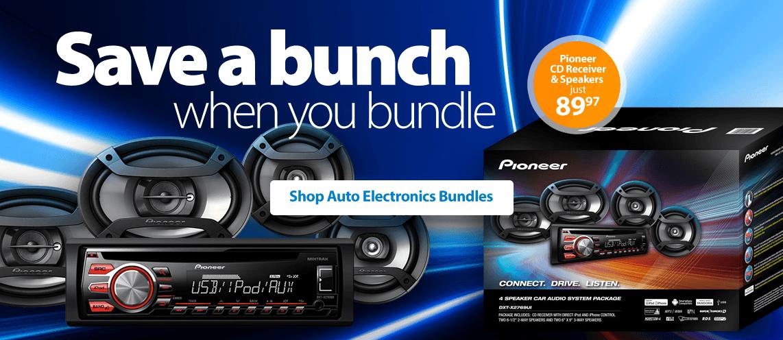 Pioneer Car Audio Bundle Includes Cd Receiver Plus 4 Speakers Dxt X2769ui | Autos Post