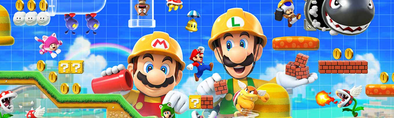 Super Mario Maker 2. Make it your way, play it your way.