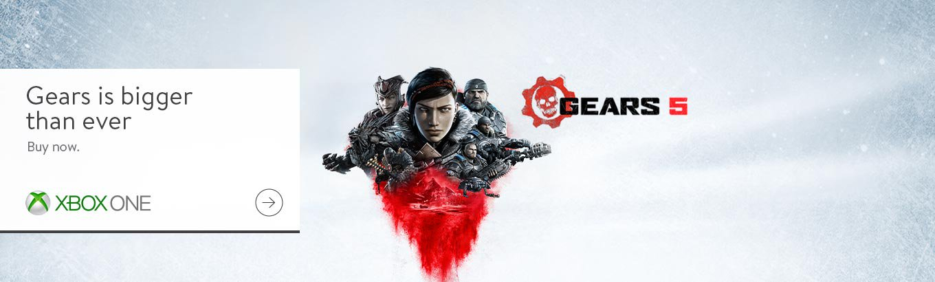 Gears of War 5. Gears is bigger than ever. Order now.