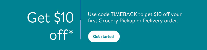 Use code WOWFRESH to get $10 off your first Grocery Pickup or Delivery order.
