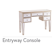 Mirrored Entryway Console