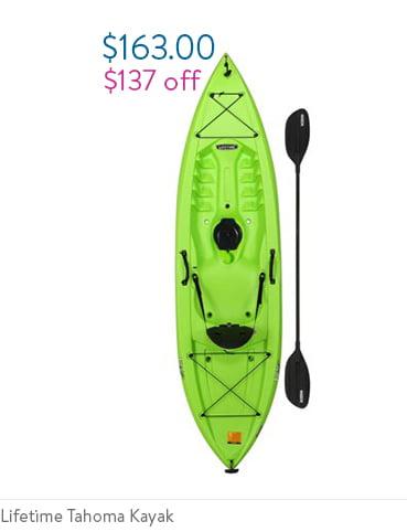 Lifetime Tahoma 100 Sit-on-top Kayak