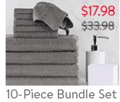 Cotton Inc. 10-Piece Bundle Set