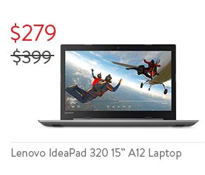 "Lenovo IdeaPad 320 15.6"" Laptop"
