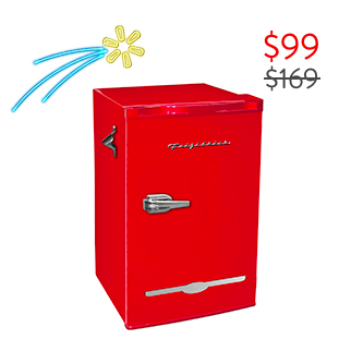 Frigidaire 3.2 Cu Ft Retro Mini Fridge