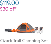 Ozark Trail Camping Set