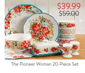 The Pioneer Woman 20-Piece Set