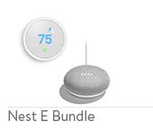 Nest Thermostat E + Free Google Home Mini