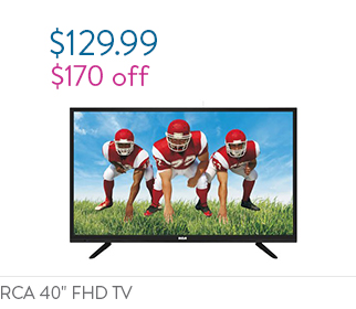 "RCA 40"" Class FHD (1080P) LED TV"