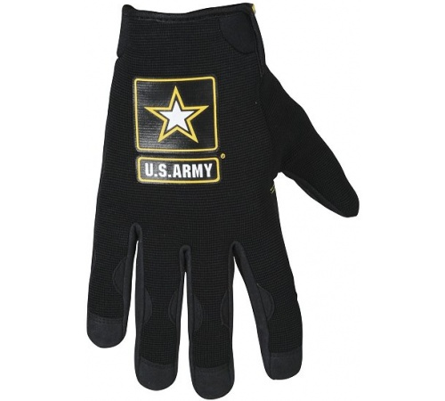 Power Trip U.S. Army Halo Gloves Black