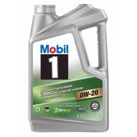 Mobil 1 Advanced Fuel Economy Full Synthetic Motor Oil 0W-20, 5 Quart