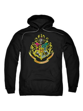 Harry Potter - Hogwarts Crest - Pull-Over Hoodie - XX-Large