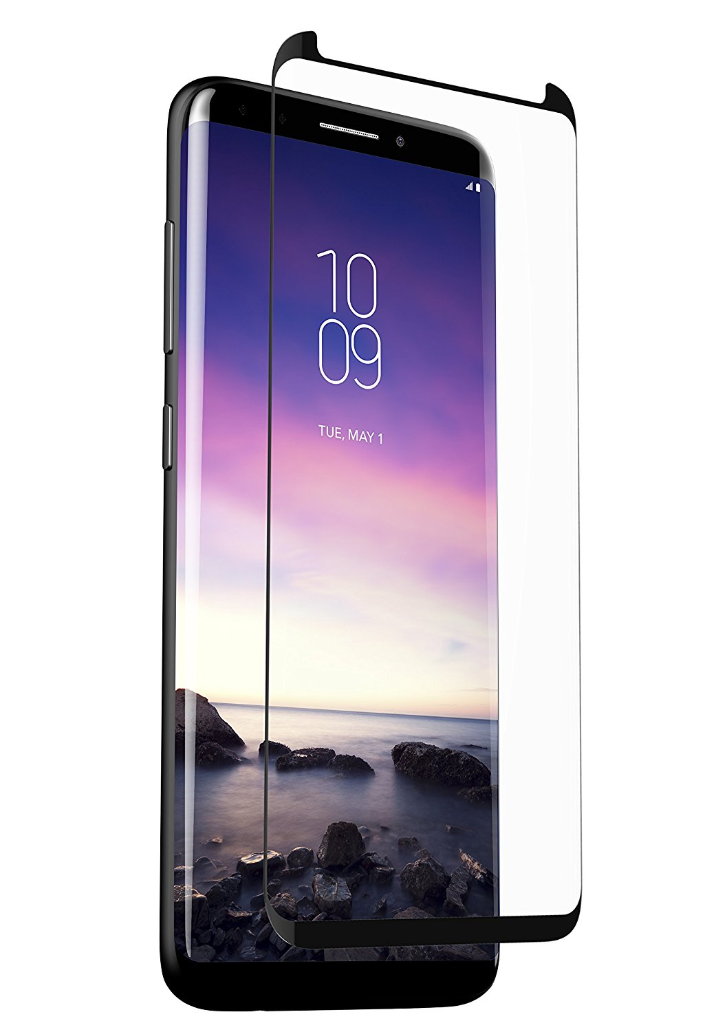 ZAGG InvisibleShield Glass Curve Elite - Screen Protector Made for Samsung Galaxy S9 Plus - Clear