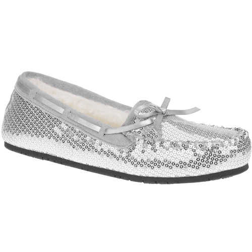 Women's Carla UB Sequin Moccasin Slippers