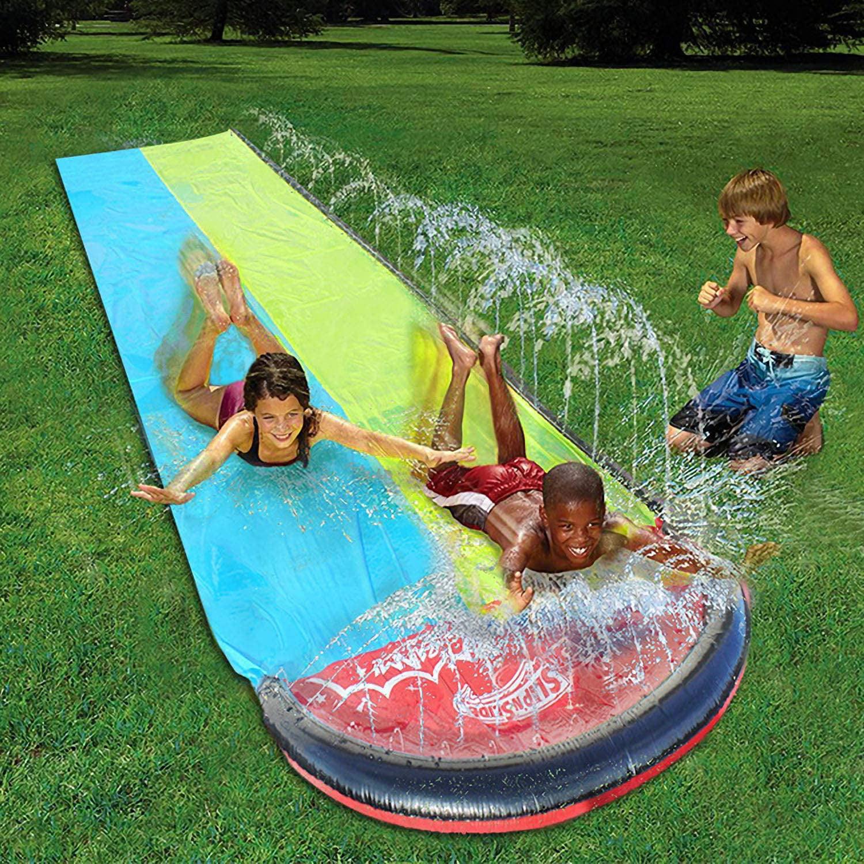 Water Slip and Slide for Kids Adults, Garden Backyard ...