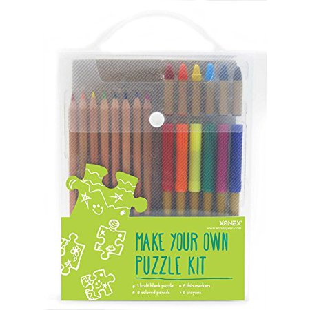 Xonex Make Your Own Puzzle Kit - Make Your Own Puzzle
