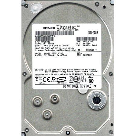 Hitachi Hua721075kla330 P N  0A35001 750Gb Mlc  Ba2588
