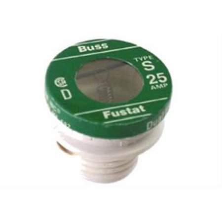 25A Type S Plug Fuse Non Tamp Dual Element Time Delay Fustat