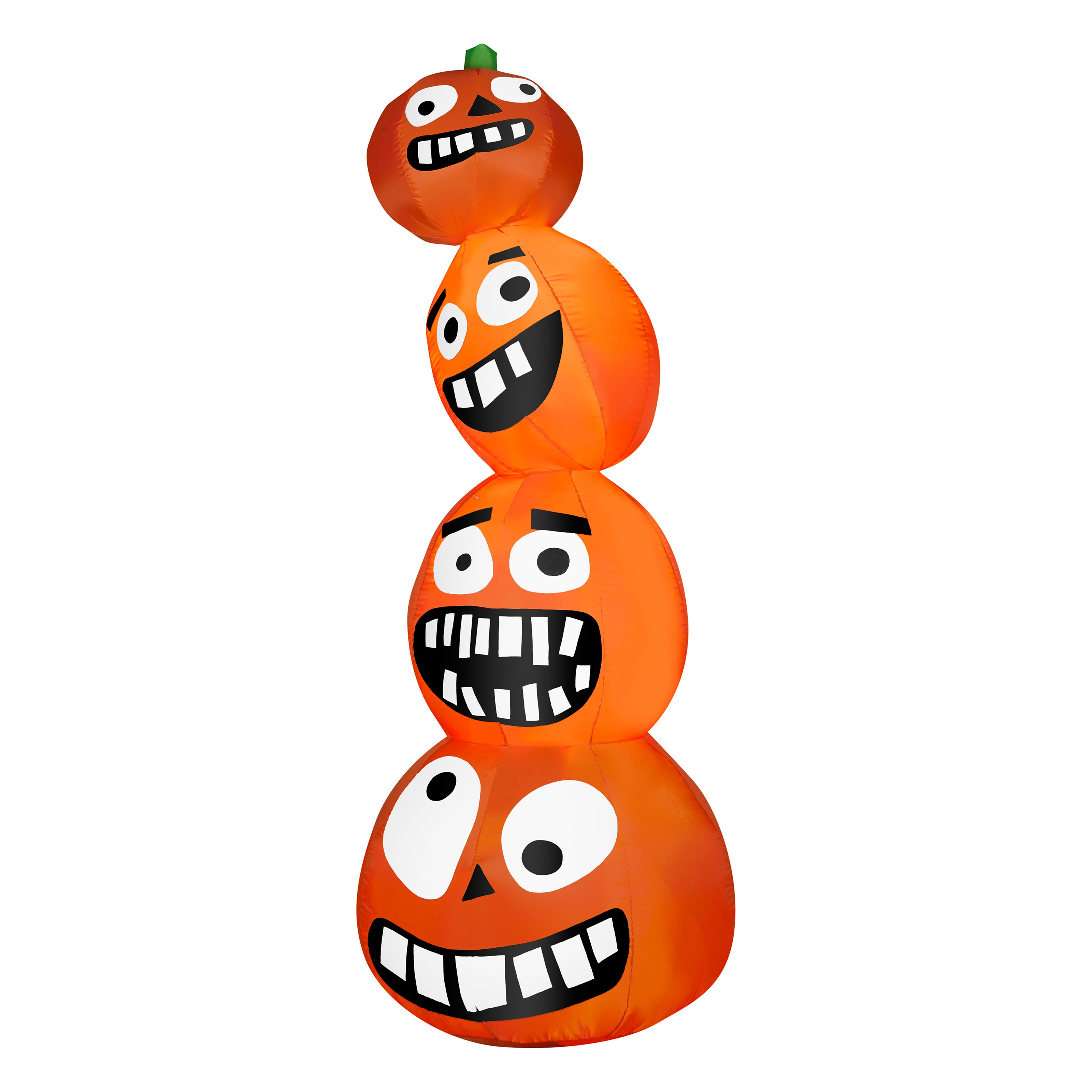Gemmy Airblown Funny Pumpkin Stack Inflatable
