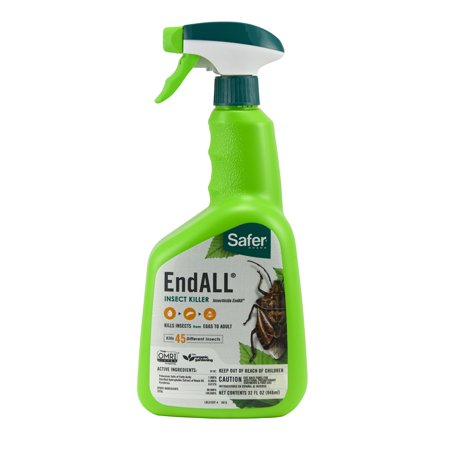 Image of Safer Brand 5102-6 Ready-to-Use End All Insect Killer - 32 oz