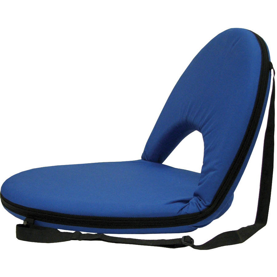 Stansport Portable and Adjustable Chair, Blue