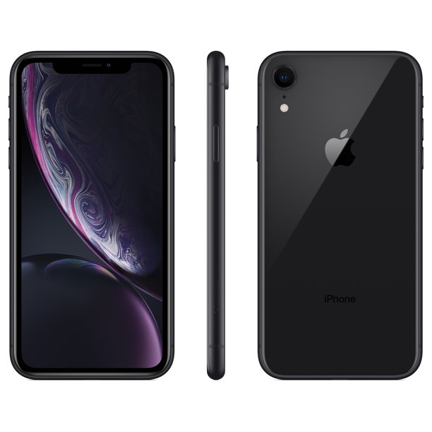 Total Wireless Apple Iphone Xr W 64gb Black Walmart Com Walmart Com