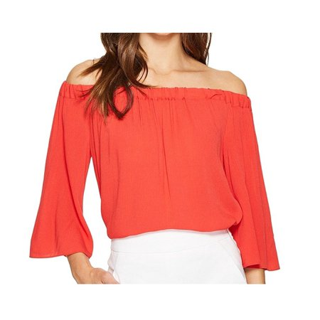 a004d0fdf12a State NEW Red Women Size Small S Contrast-Piped V-Neck Chiffon Blouse -  Walmart.com