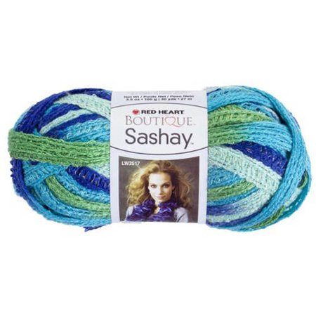 Red Heart Boutique Sashay Yarn Available In Multiple Colors