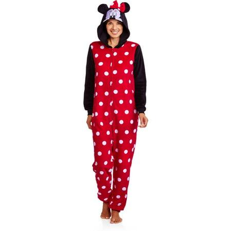 9648e6b8e81c Licensed - Mickey Mouse One Piece Pajamas (Sizes S-2X) - Walmart.com