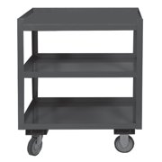 Durham Welded Utility Cart, Gray PSD-2430-3-95