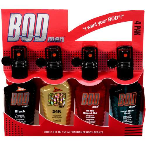"Bod Man Fragrance Body ""I Want Your Bod!"" Spray"