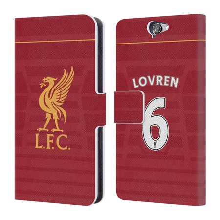 newest collection fe223 54f8d OFFICIAL LIVERPOOL FOOTBALL CLUB HOME KIT 16/17 1 LEATHER BOOK WALLET CASE  COVER FOR HTC PHONES 1