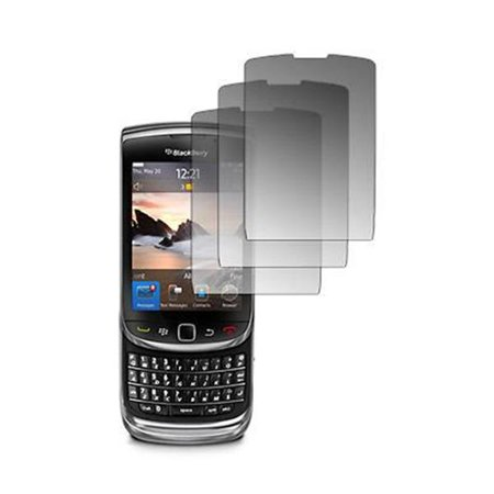3 Pack of Premium Crystal Clear Screen Protectors for Blackberry Torch 9800 [Accessory Export Brand Packaging] 3 Pack Clear Overlay