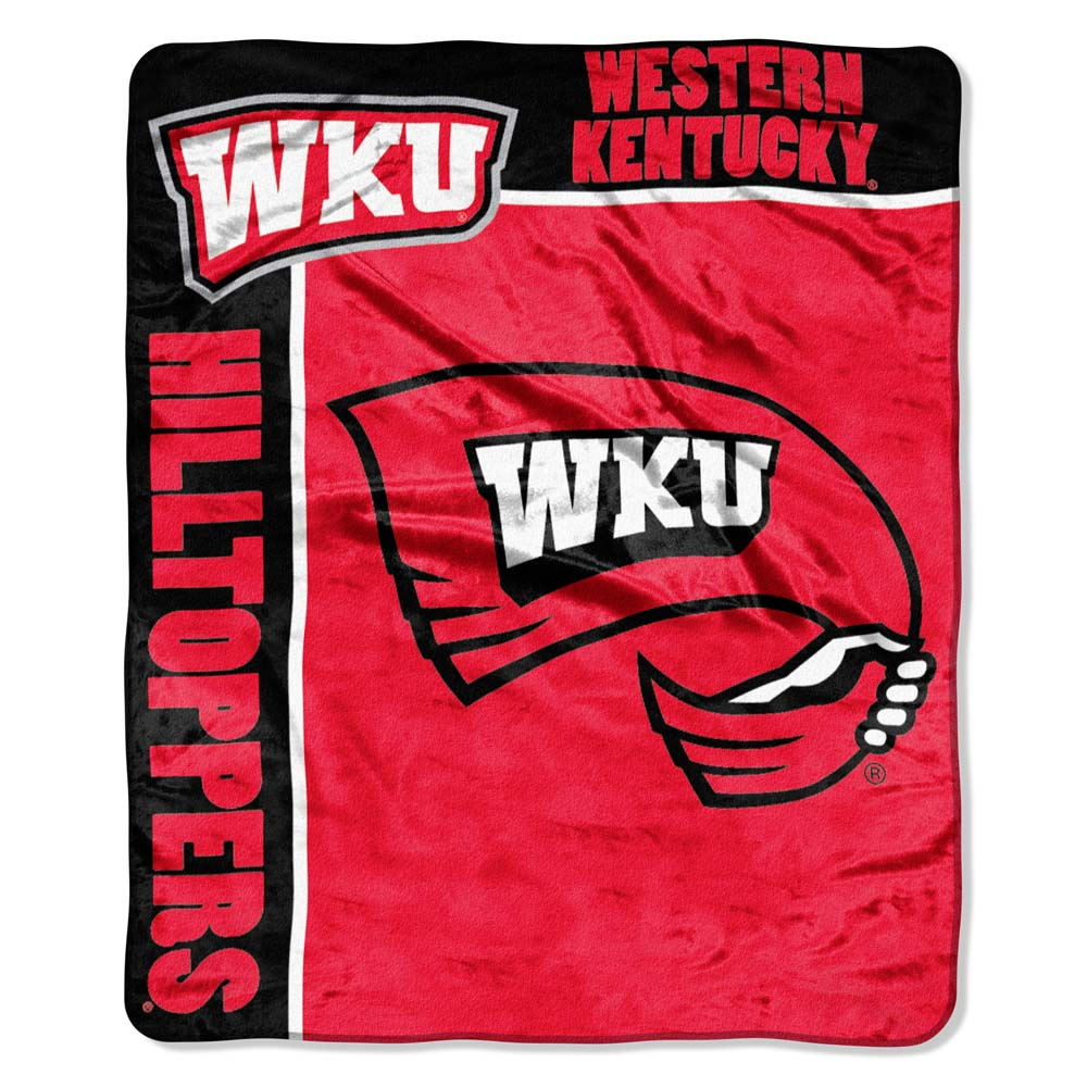 Western Kentucky Plush Blanket
