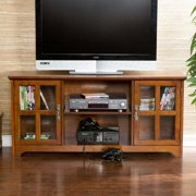 "Bearden Media Stand, for flat screen TV's up to 50"", Multiple Finishes"