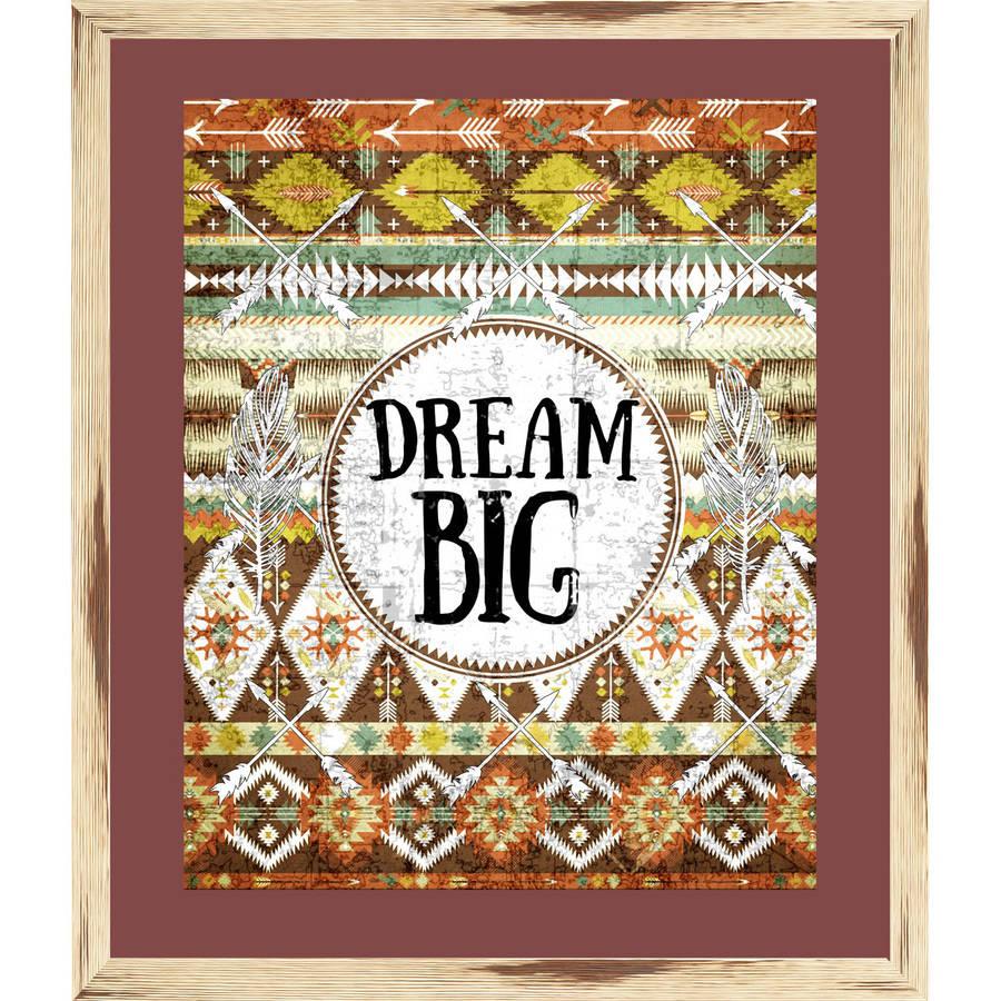 Dream Big, 22X26 Overall Dimension Framed Wall Art